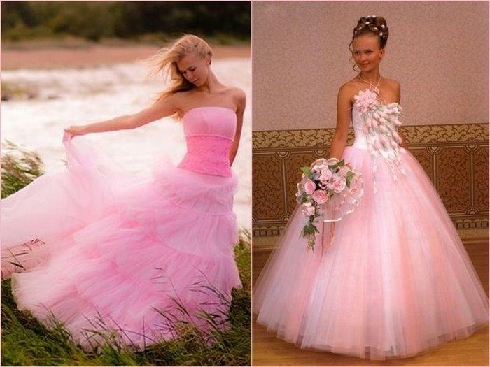 14093493012909988_srrrrrr_rrrssr6 Невеста в розовом платье - выбор для смелых девушек
