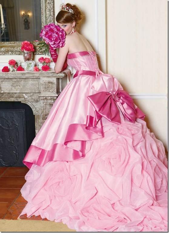 1409349327barbiegamesforgirlsonlineforfree32 Невеста в розовом платье - выбор для смелых девушек