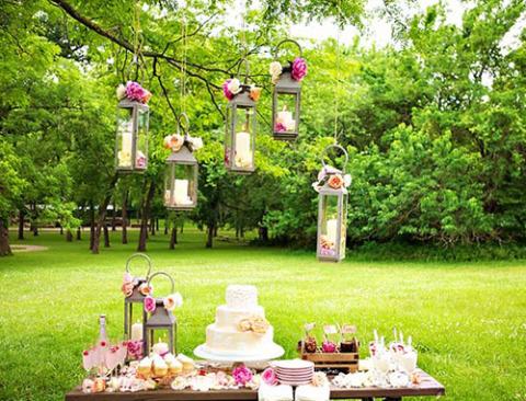 Торжество на природе – прекрасный вариант для летней свадьбы
