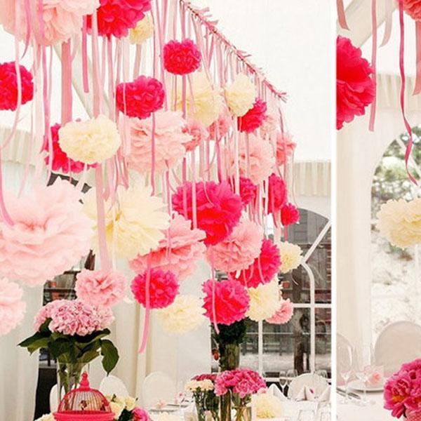 1420325942fc8807b5619eecc315d9b28ff604f666 Бумажные декорации для свадьбы
