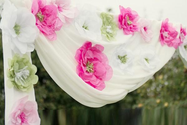 14203263685191f0cd76b64 Бумажные декорации для свадьбы