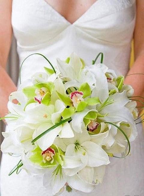 ФОТОЛИСТ № 6, 15 свадебных букетов для невесты