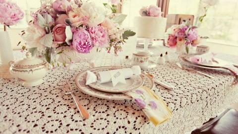 Свадьба в стиле шебби-шик: дань былой роскоши
