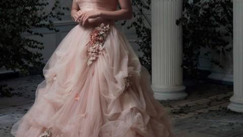 Свадебные платья – 2014: возвращение цвета
