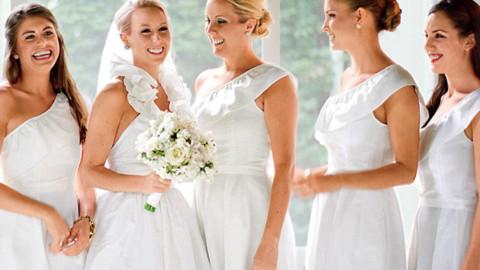 Можно ли идти в белом платье на свадьбу?