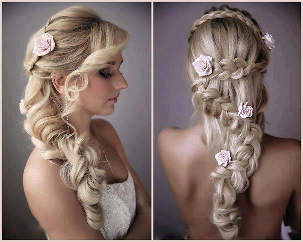 rozy-dlya-pricheski-nevesty Советы по выбору живых цветов для свадебной прически