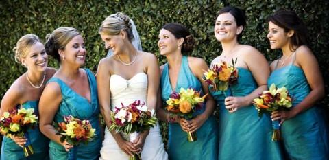 А может свадьба будет бирюзовой?