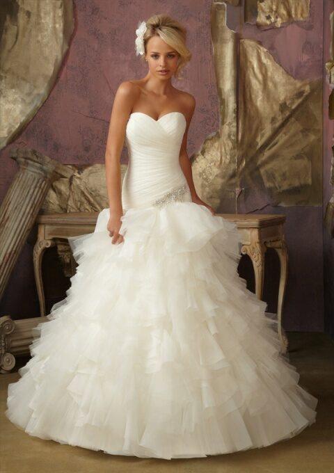 Фотоподборка. Свадебные платья Mori Lee.