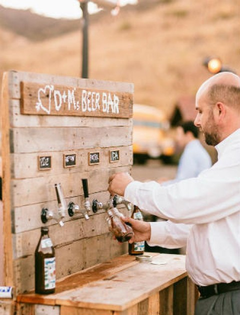 Коктейль бар на свадьбе