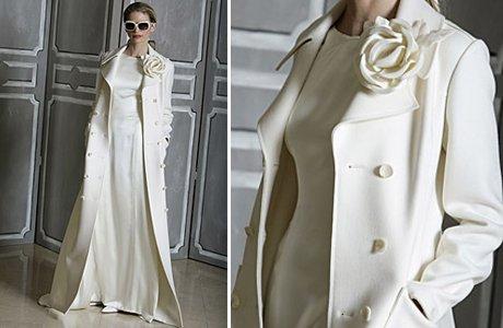 svadebnoe-palto-dlinnoe Выбираем свадебное пальто для невесты