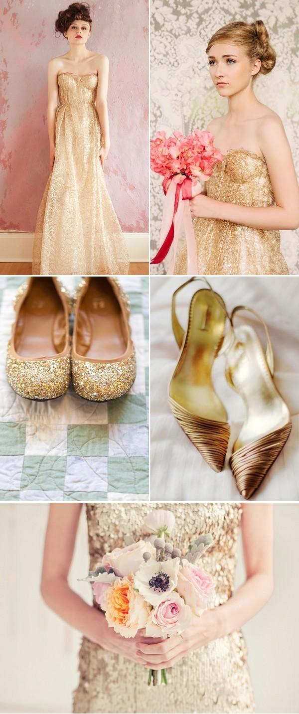 51 Свадьба в золотом цвете: королевский праздник