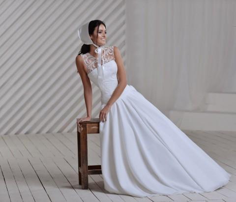 Свадебный чепчик замена фаты для смелых невест