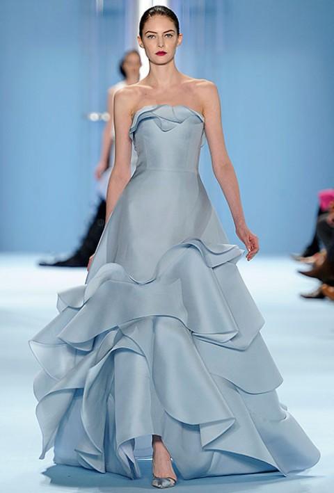 Лучшие свадебные платья с недели высокой моды в Нью-Йорке
