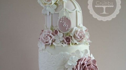 Бесподобные свадебные торты от Tracy James