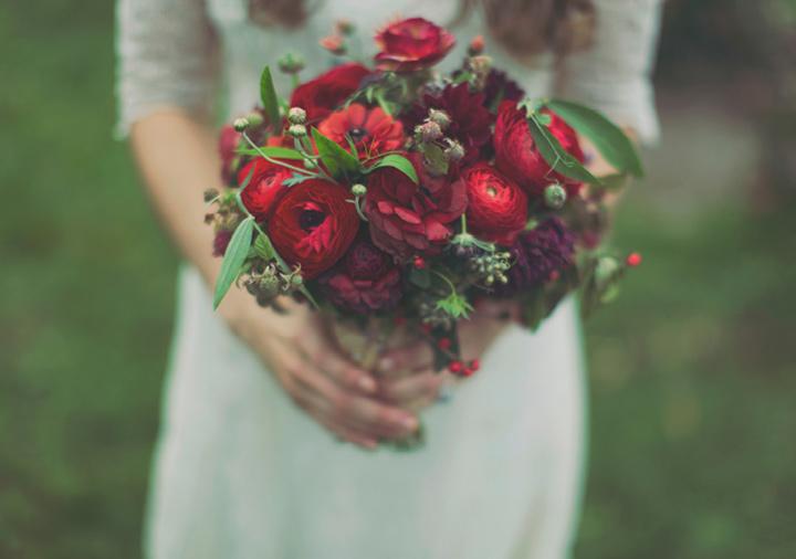 33-weddingbouquetwithRANUNCULUS Свадебный букет из ранункулюсов
