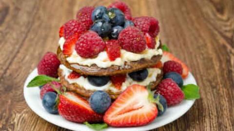 Необычное угощение– блинный торт