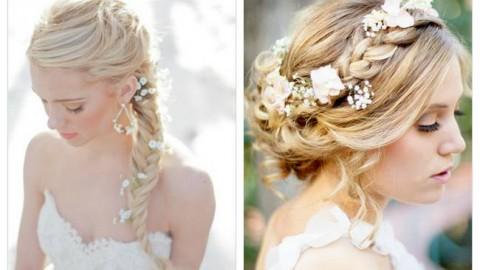 Основные стили свадебных причесок.