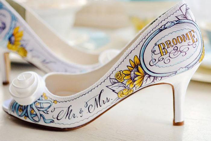 graffiti-tufli-nevesty Модные тренды последних сезонов: обувь для невесты