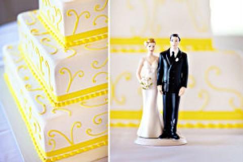 Лимонная свадьба в самый разгар лета, украсит любое торжество своей яркостью и позитивом