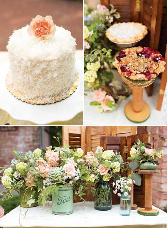 svadba-v-stile-chaya-7-1 Восхитительная винтажная свадьба в стиле зеленого чая, с нотками романтики и нежности