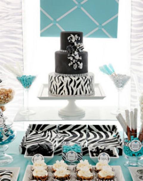 1-svadebnyj-Kendi-Bar-zebra1-480x608 Кэнди бар на свадьбу- более 100 идей и решений