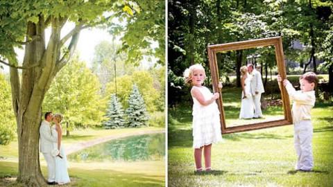 Рустиковая свадьба, как разнообразить торжество желтым цветом?