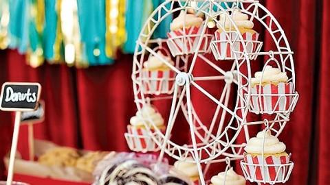 """Удивительная свадьба в стиле карнавала, посвященная празднику """"День урожая"""""""