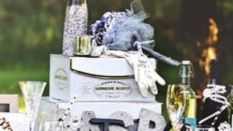 """Блестящая и притягательная свадьба по мотивам фильма """"Великий Гэтсби"""""""