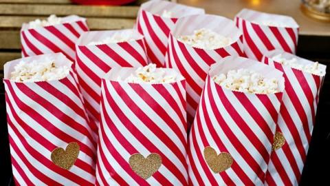 """Удивительный Кэнди Бар в стиле кино на свадьбе по мотивам """"Церемонии вручения Оскара"""""""