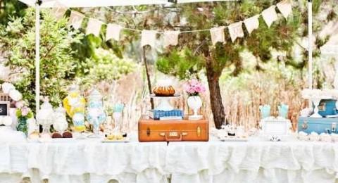 Организуем винтажный Кэнди Бар на тематическом свадебном торжестве