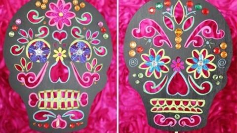 Делаем сами яркий и жуткий декор для свадьбы в стиле Дня Мертвых