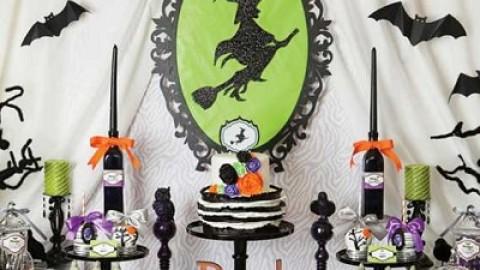 Идея веселого девичника в тематике веселого шабаша для прекрасных ведьмочек