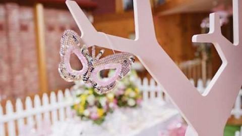Удивительная легкость и нежность свадьбы в винтажном стиле
