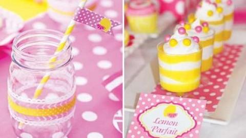 Нежная и сочная лимонно-розовая свадьба в самый разгар лета