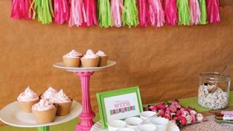 """Необычный десертный стол для свадьбы """"Сделай сам свое угощение"""""""