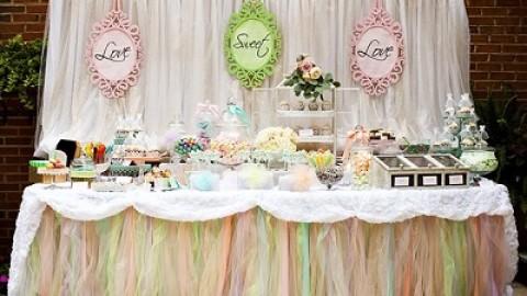 Легкая и воздушная свадьба в пастельных оттенках для торжества на лоне природы