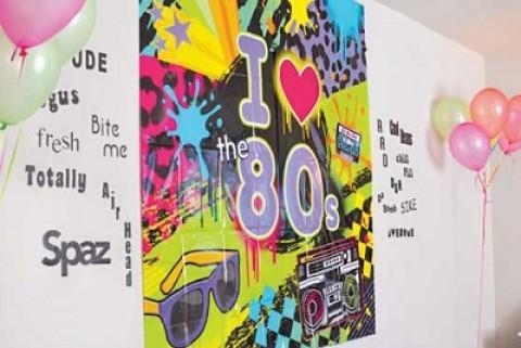 Возвращаемся в 80-ые вместе с ярким и тематическим девичником
