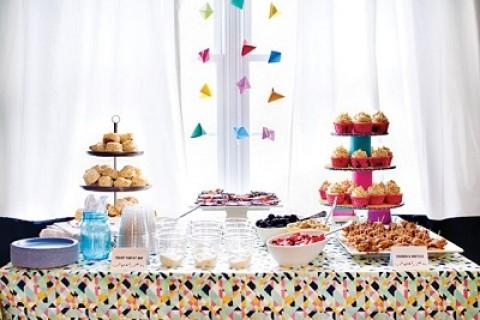 Как использовать геометрические принты и узоры в декоре свадьбы