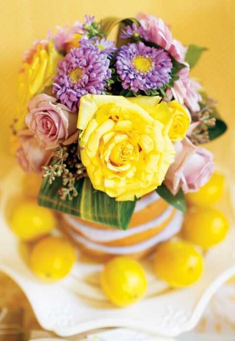 limonno-sirenevyj-kendi-bar-na-svadbu-3-480x695 Свадьба: идеи, букеты, декор и торты