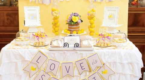 Нежная сирень и яркий лимон, как сочетать такие разные свадебные тематики в одну?