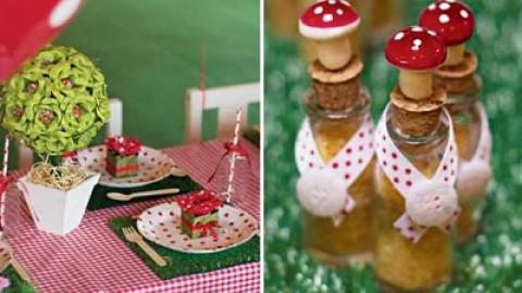 """Веселый и немного детский свадебный стиль """"Влюбленные мишки на лесной опушке"""""""