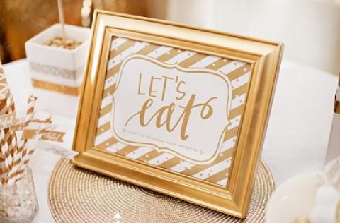 Богатство и роскошь золотого Кенди Бара на свадьбе, чем удивить гостей