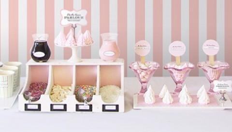 Макеты для нежно-розового Кенди Бара