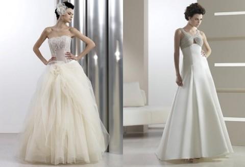 Коллекция свадебных платьев от Cotin Spoza подходит для невест на маленьком сроке беременности