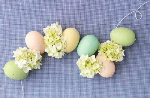 Мастер класс: гирлянда из яичек на свадьбу