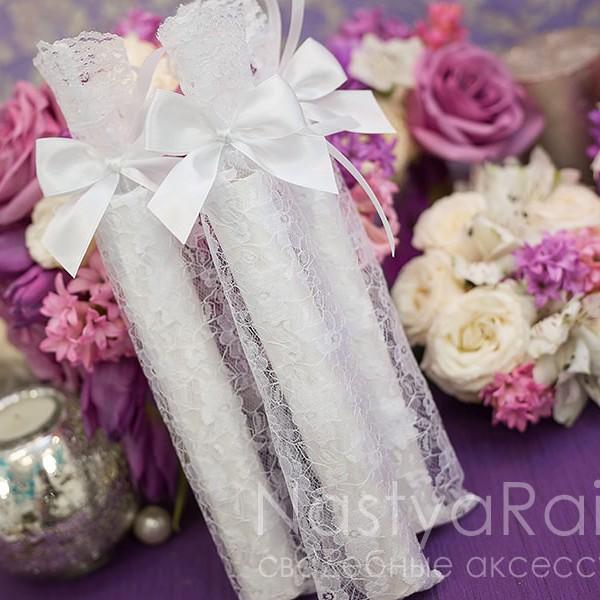 продажа Кружевной мешочек для свадебного свитка