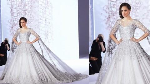 Цена платья Меган Маркл на свадьбу с принцем Гарри 19 мая