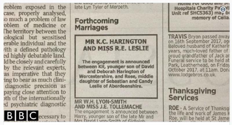 svadba-dzh-snou-iz-igry-prestolov-i-ingritt-soobshhenie-v-gazete 23 июня Кит Харингтон и Роуз Лесли сыграют свадьбу