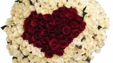 Букет к празднику День Святого Валентина