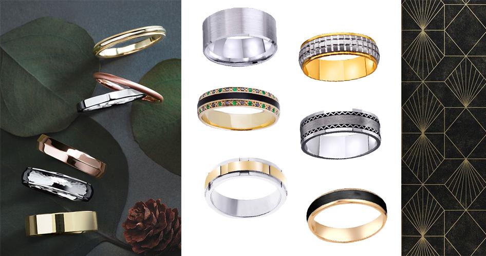 muzhskie-obruchalnye-koltsa Обручальные кольца — символ любви и предмет самовыражения
